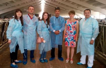 Ukrainian Stock Breeders Association hosted a delegation from Uzbekistan interested in buying our heifers