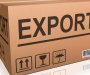 Which area became the leader in Ukraine for the export of goods to the EU