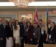 Iryna Palamar took part in the International Economic Forum Toronto Global Forum in Canada
