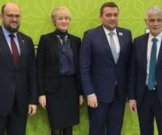 The Ukrainian delegation participates in the Global Forum on Food and Agriculture in Berlin