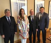 Iryna Palamar, in the framework of her visit to Uzbekistan, discussed with the governor of the Tashkent region investments in the development of the region