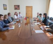 A meeting was held in the Ministry of Agrarian Policy  with Swiss colleagues on the introduction of a control system for food safety