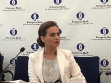 Iryna Palamar took part in the discussion of the new EBRD Draft Agribusiness Sector Strategy